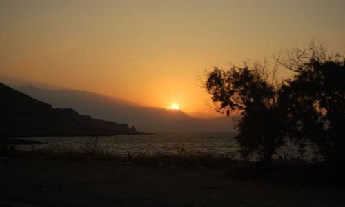 Zdjecie GRECJA / Kreta / Kreta / zachodzik słoneczka