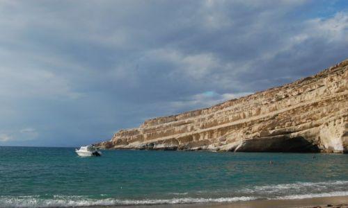 Zdjecie GRECJA / Kreta / Kreta / plaża z apartam