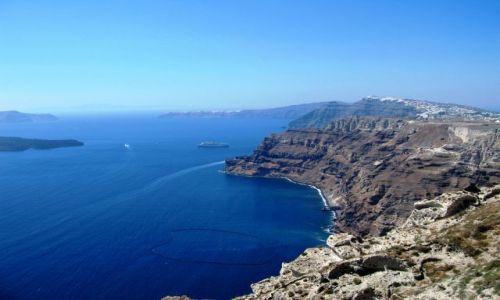 Zdjecie GRECJA / Cyklady / Wyspa Santorini / Santorini
