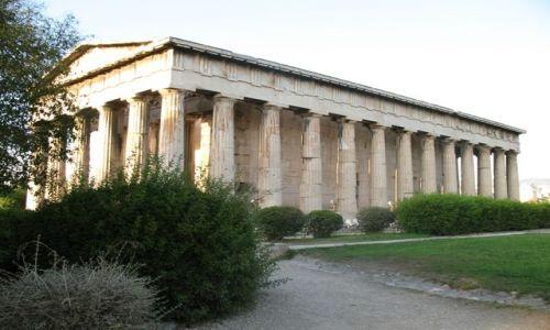 Zdjecie GRECJA / brak / Ateny / Światynia Hefajstosa