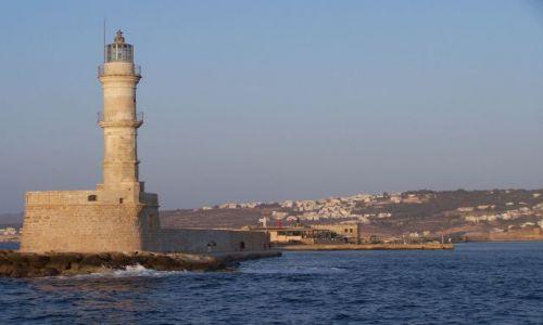Zdjecie GRECJA / Kreta / Kreta / latarnia morska
