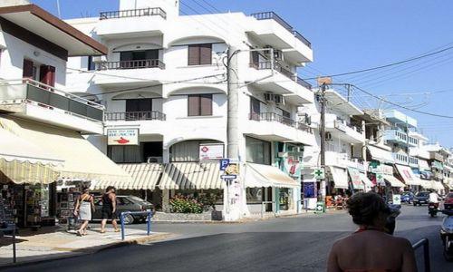 GRECJA / Kreta / Chersonissos / Białe domy