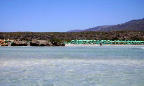 Zdjęcie GRECJA / Kreta / Elafonisi - zachodnia część wyspy / plaża Elafonisi