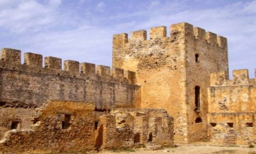 Zdjecie GRECJA / Kreta / południe Krety / zamek Frangokastello