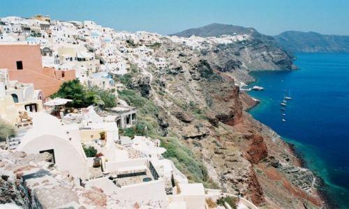 Zdjecie GRECJA / Wyspa / Santorini / santo coloro