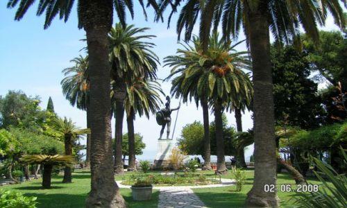 Zdjecie GRECJA / Korfu / Achillion / Park Cesarzowej Sisi