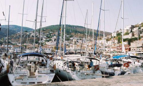 Zdjęcie GRECJA / Hydra / Port / Hydra
