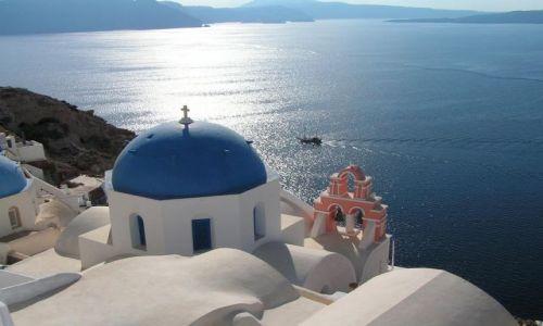 Zdjecie GRECJA / Santorini / Ol / Greckie klimaty