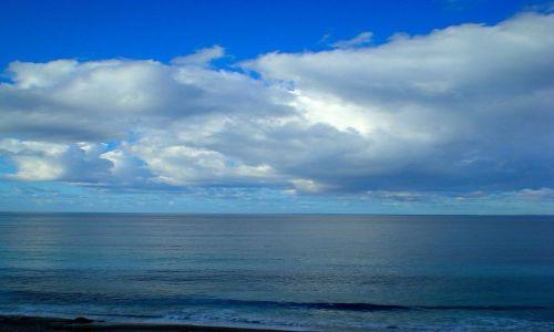 Zdjecie GRECJA / Riwiera Olimpijska / ok. Nei Pori / morze .... na błękitno