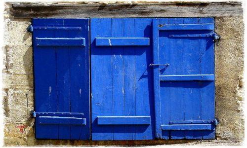 Zdjecie GRECJA / wioska u podnóża  Olimpu  .... / brak / na niebiesko .....