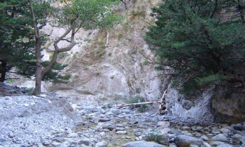 Zdjęcie GRECJA / Kreta / wąwóz Samaria / wąwóz Samaria