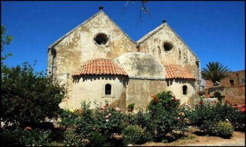 Zdjecie GRECJA / Kreta / Moni Arkadiou / Arcadis