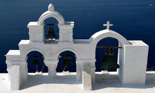 Zdjecie GRECJA / Santorini / Oia / dzwony ....
