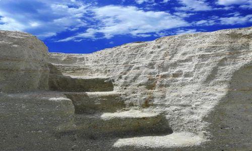 Zdjecie GRECJA / Santorini / Oia / schody do nieba ....