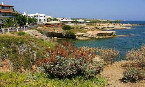 Zdjecie GRECJA / Kreta / Hersonissos / Widok na nadbrzeże