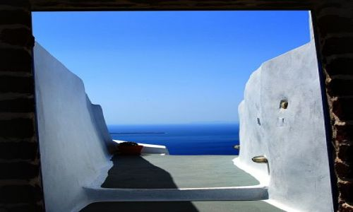 Zdjecie GRECJA / Santorini / Oia / otchłań ....