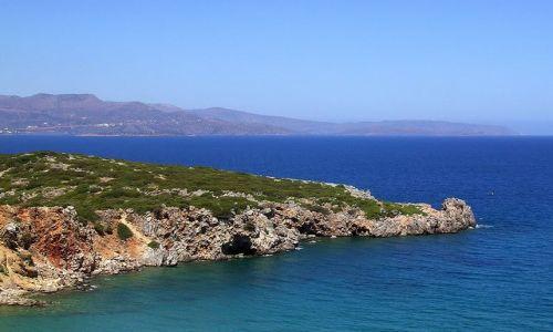 Zdjecie GRECJA / Kreta / Istro / Kilf Istro zwany Krokodylem