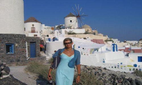Zdjecie GRECJA / brak / Santorini / wiatrak.....