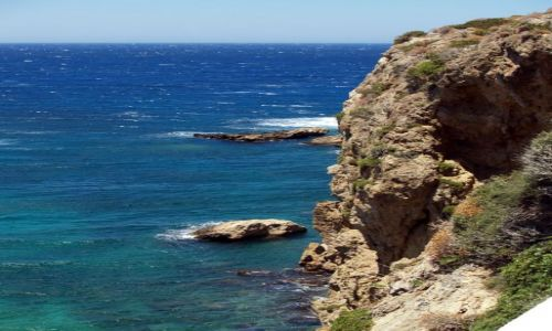 Zdjecie GRECJA / Santorini / Santorini / Widoczek