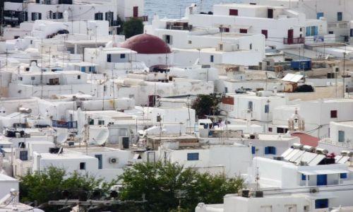 Zdjecie GRECJA / Cyklady / Mikonos / Typologia miasta