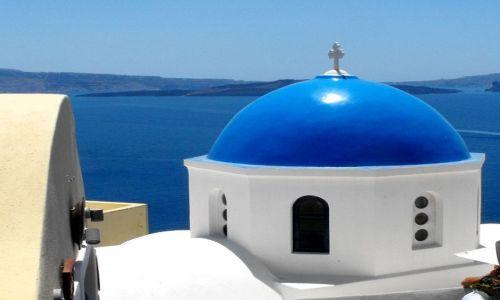 Zdjecie GRECJA / Cyklady / Santorini / czerwiec na Santorini