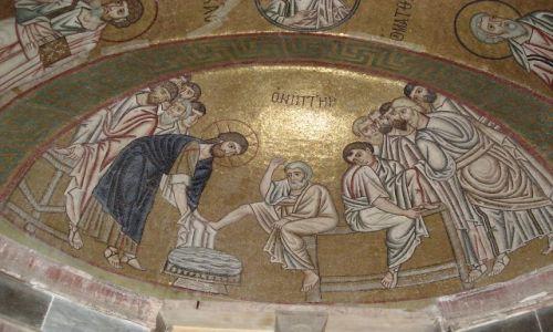 Zdjęcie GRECJA / Beocja / Hosios Loukas / Sztuka Grecji - mozaiki (3)
