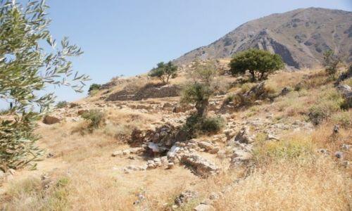 Zdjecie GRECJA / Kreta / Azoria / Azoria - stanowisko archeologiczne I