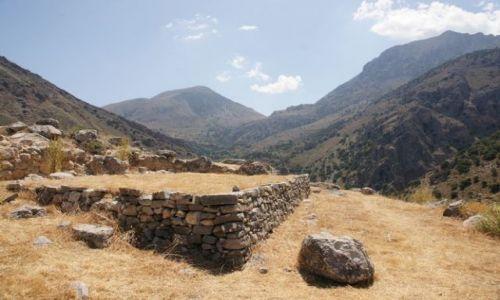GRECJA / Kreta / Azoria / Azoria - stanowisko archeologiczne IV