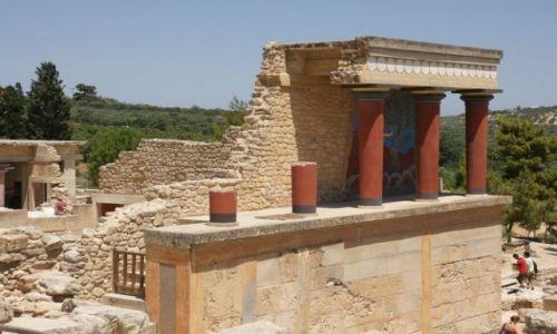 Zdjecie GRECJA / Kreta / Knossos / Mino(j)skie impresje II