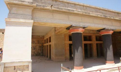 Zdjęcie GRECJA / Kreta / Knossos / Mino(j)skie impresje IV