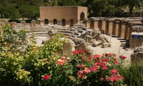 Zdjęcie GRECJA / Kreta / Gortyna / Amfiteatr I