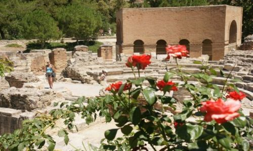 Zdjęcie GRECJA / Kreta / Gortyna / Amfiteatr III