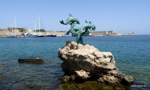 GRECJA / - / Rodos / Rodos - port