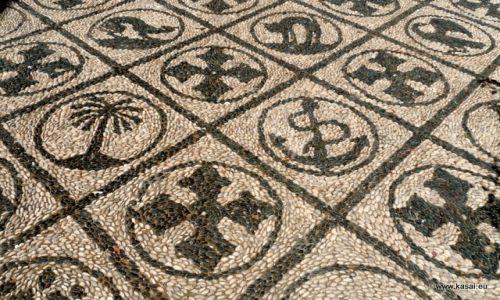 GRECJA / - / Rodos / Rodos - mozaiki z kamyków tz.hochlaki