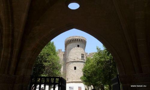 GRECJA / - / Rodos / Rodos - zamek Joannitów