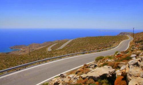 Zdjecie GRECJA / Kreta / Kserokampos / Droga do Kserokampos I