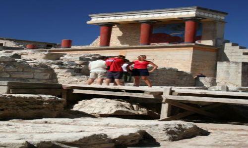 Zdjęcie GRECJA / Heraklion / Knossos / Knossos 2