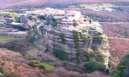 GRECJA / Tesalia / okolica miasta Kalampaka / Meteory