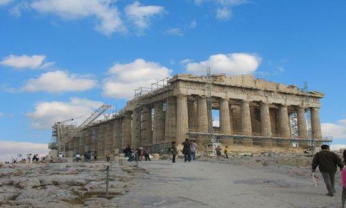 GRECJA / Attyka  / Ateny, Akropol / Partenon