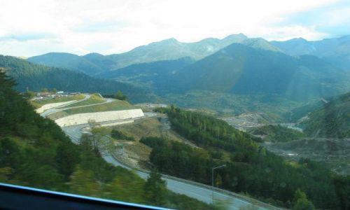 GRECJA / Góry Pindos / w drodze z Epiru do Tesalii / nowe drogi przez Góry Pindos