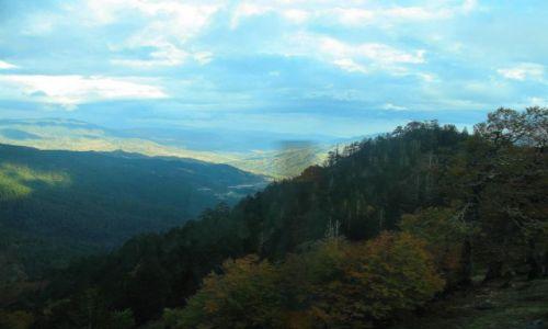 GRECJA / Góry Pindos / w drodze z Epiru do Tesalii / Widoki w górach Pindos