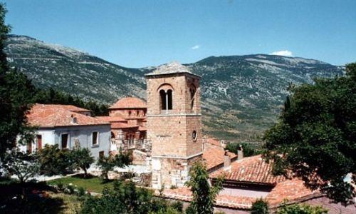 Zdjęcie GRECJA / - / OSIOS LUKAS / Klasztor św. Łukasza (ok. 1011 r.)