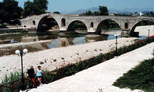 Zdjecie GRECJA / - / ARTA / Most na rzece Arachthos.