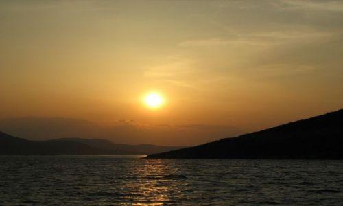Zdjecie GRECJA / - / shiatos / zachód słońca