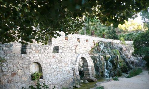 GRECJA / Peloponez / Navplio / Mury obronne