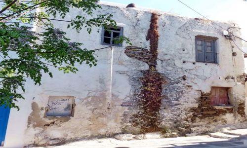 Zdjęcie GRECJA / Mikonos / Mikonos  / Zaniedbany dom