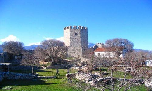 Zdjęcie GRECJA / Macedonia / Platamonas / zamek
