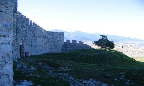 Zdjęcie GRECJA / Macedonia / Platamonas / mur