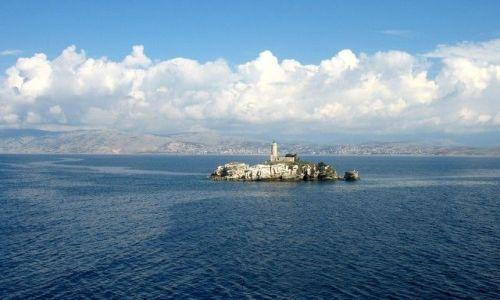 Zdjęcie GRECJA / Morze Śródziemne /  między Italią, Albanią i Grecją / Wyspa