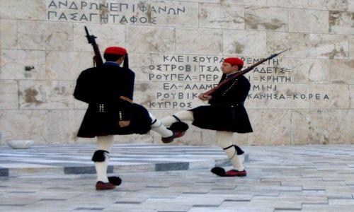 Zdjęcie GRECJA / Attyka / Ateny / Pod Parlamentem
